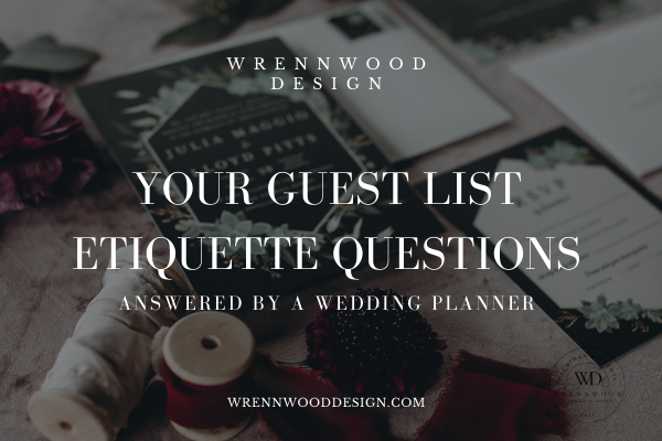 how to cut guest list